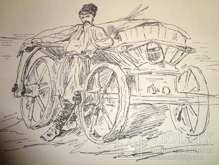 1889 Поездки по Украине и лирники Киевская Старина