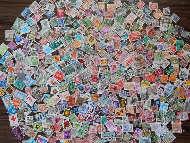 Марки разных стран и периодов 450 шт