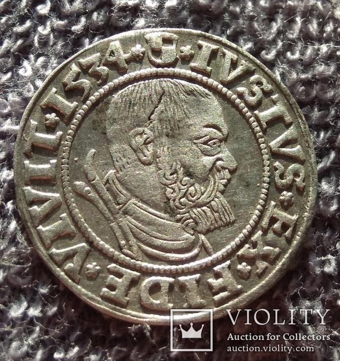 Прусский грош Альбрехта 1534 года
