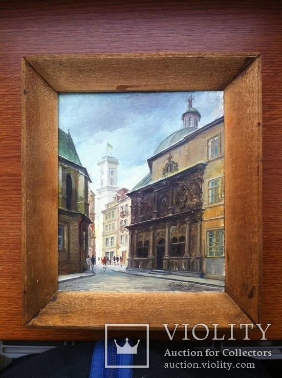 Львів, катедра, ратуша. 1993р.