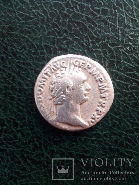 Денарий Домициана