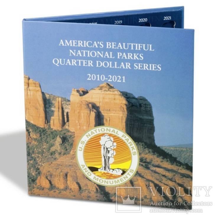 Альбом PRESSO для 25-ти центовых монет США, серия