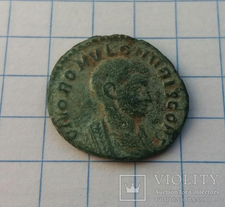 1/4 фоллиса Ромула AE Quarter Follis Valerius Romulus