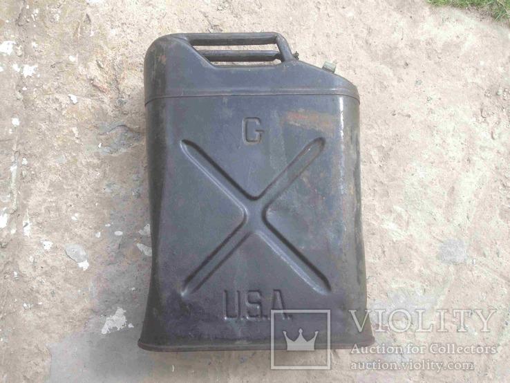 Американский вариант канистры вермахта 1943 года.