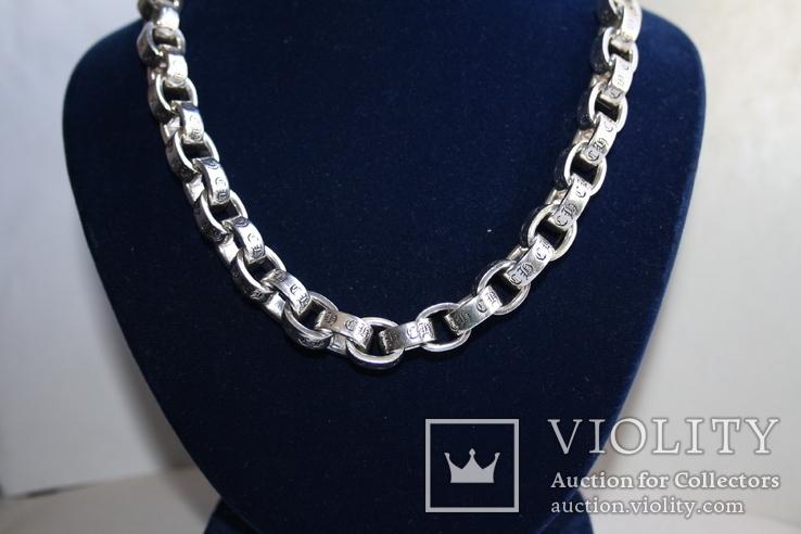 """Новая серебряная цепочка """" Chrome Hearts """", фото №2"""