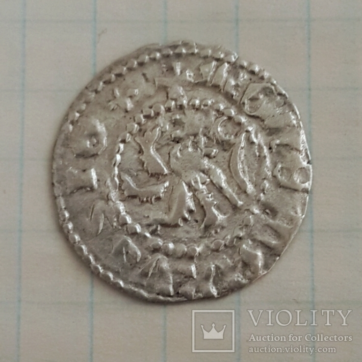 Галицко-Русский грош Владислава Ягайла (1380-х годов)