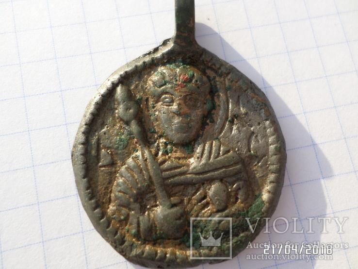 Змеевик КР. Святой Великомученик Георгий, 12-13 века.