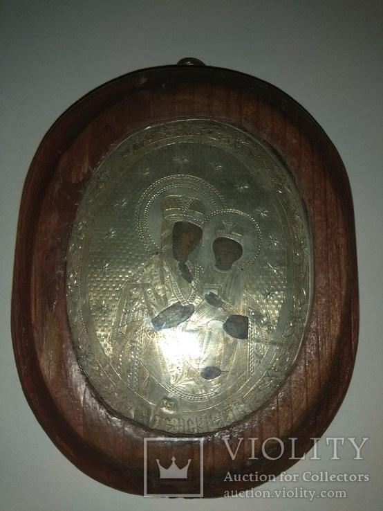 Икона серебро 84