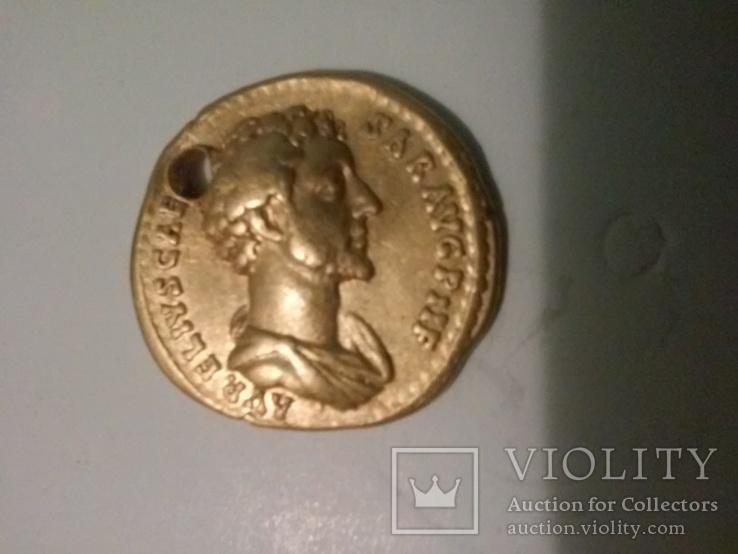 Аурейс,марк аврелий 148-149 AD 7.15гр