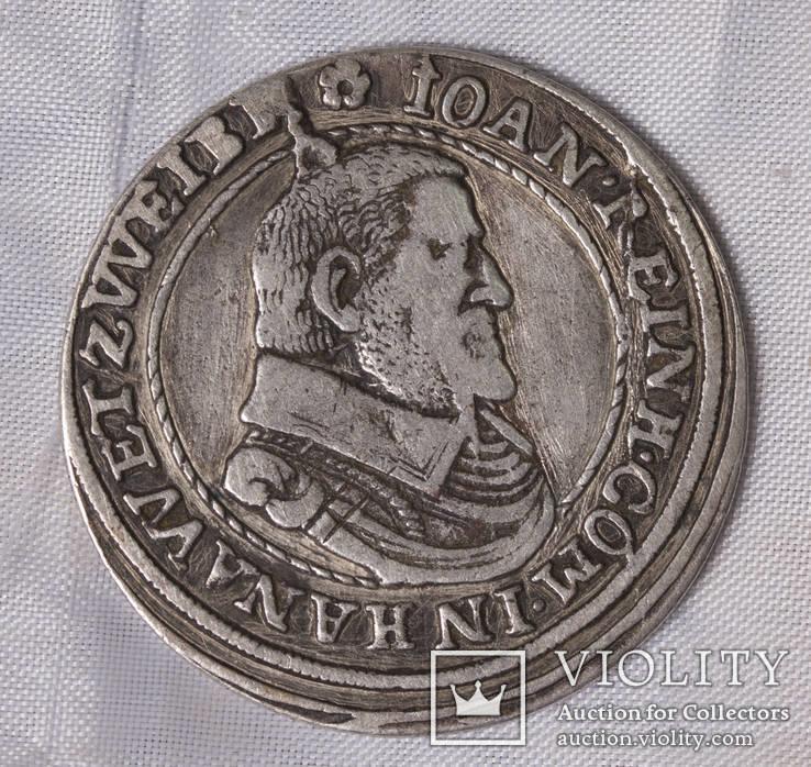 Teston 1608  Hessen Hanau-Lichtenberg, Grafschaft
