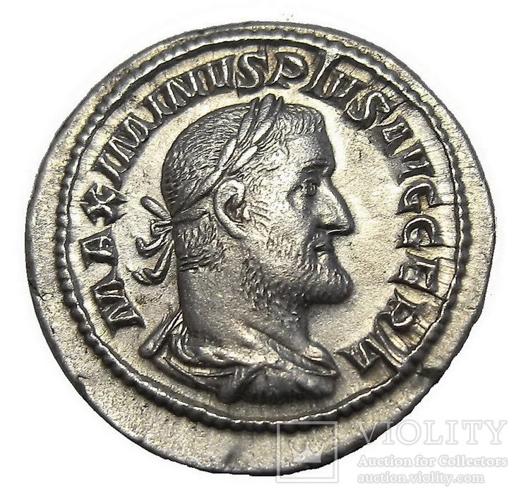 Денарий Максиминус І 235-238 г. н.э.