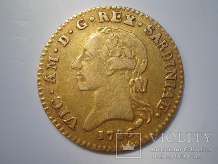 Доппия 1786 г, Сардиния