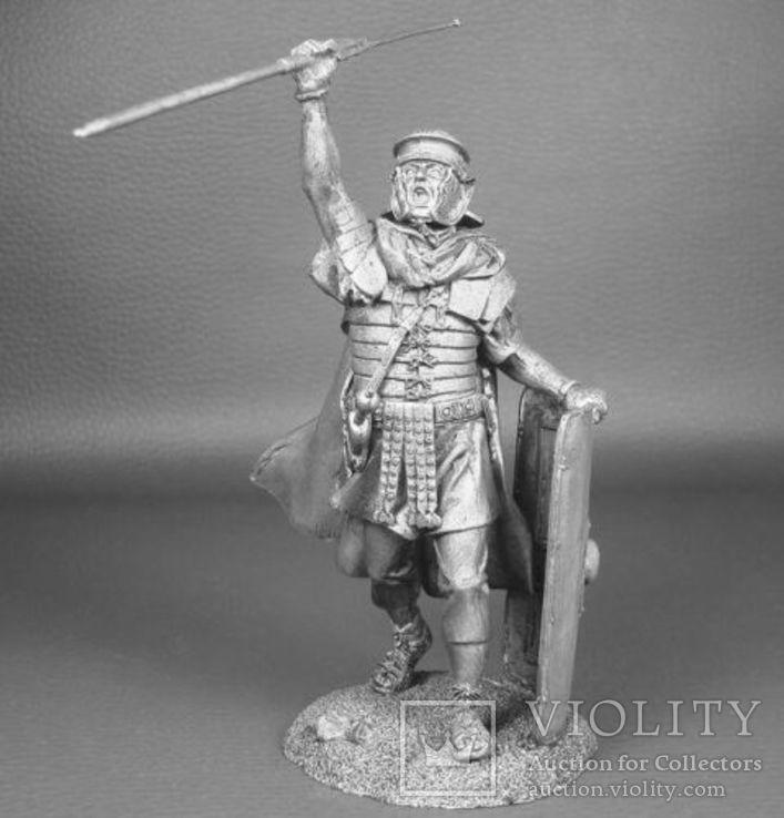 Рим. Легионер Legio XXX Ulpia Victrix 1век, фото №2