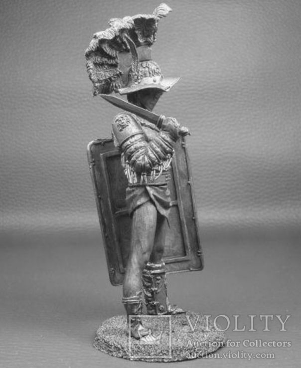 Рим.Гладиатор Мурмиллон 1 век до н.э.75мм., фото №3