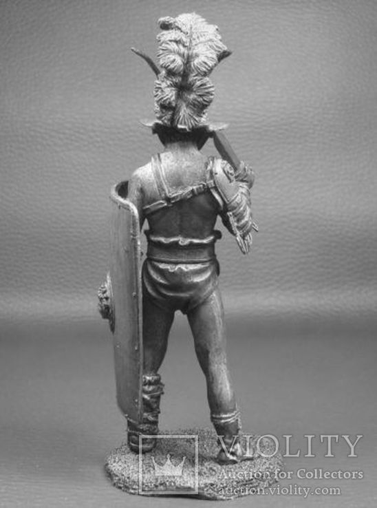 Рим.Гладиатор Мурмиллон 1 век до н.э.75мм., фото №4