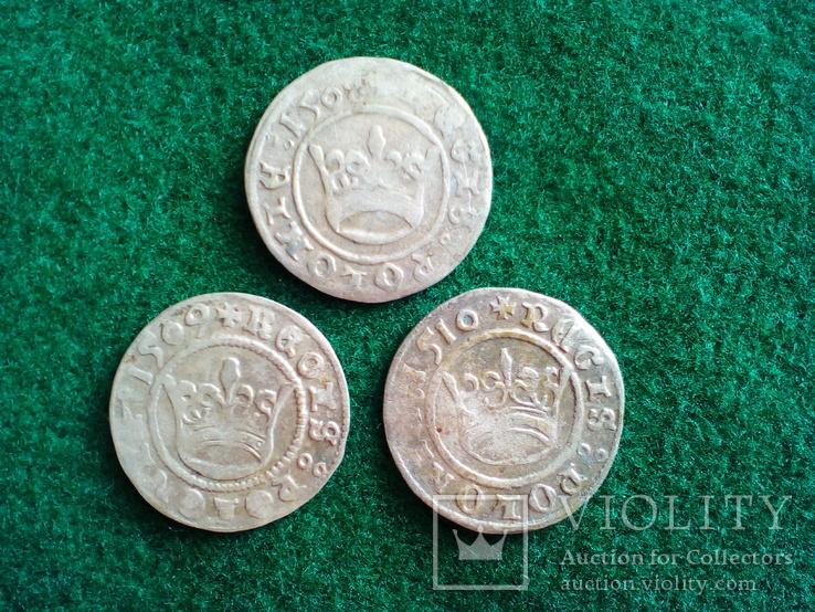 Півгрош 1508 , 1509 , 1510.