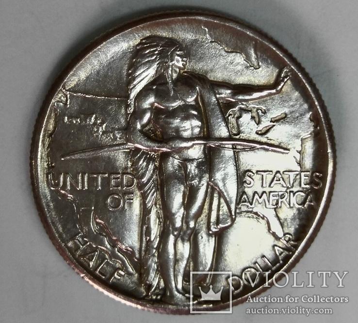 50 центов 1926 г, Памятная монета США , Oregon Trail Memorial  UNC