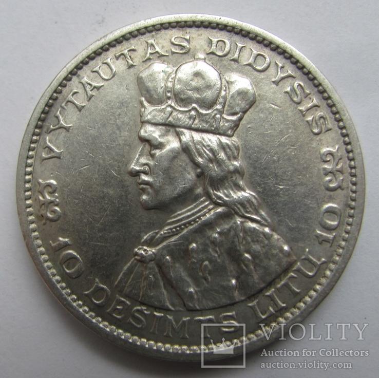 10 лит 1936 г. Литва.
