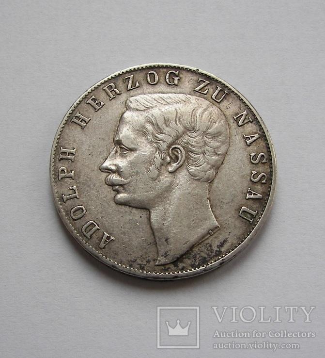 Талер 1860 Нассау