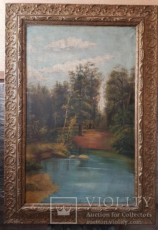Работа  И. Соколова начало ХХ века