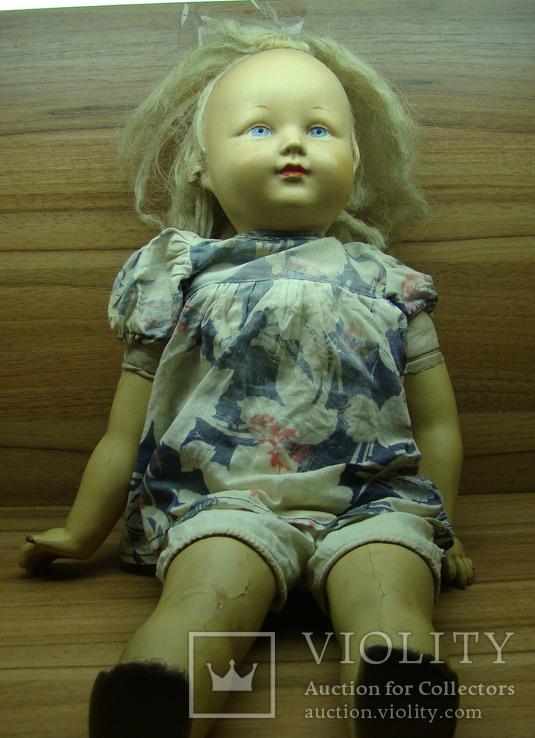 старая кукла. 50-ые годы