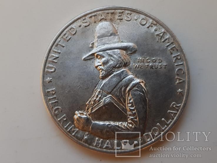 Пол Доллара 1920 Пилигрим