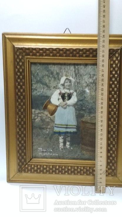 Старинная фотография с подресовкой, фото №3
