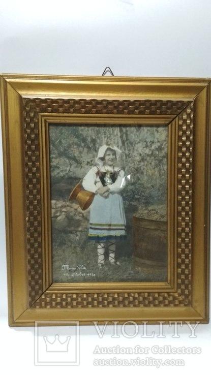 Старинная фотография с подресовкой, фото №8