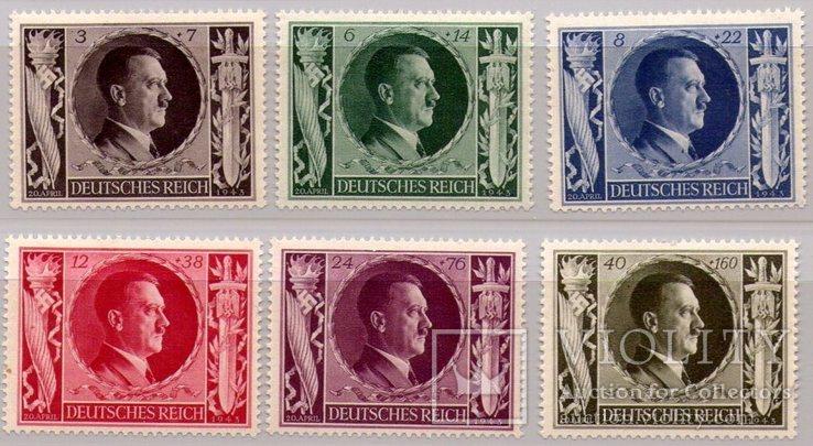 Рейх Германия 54-й День Рождения Адольфа Гитлера 1943г