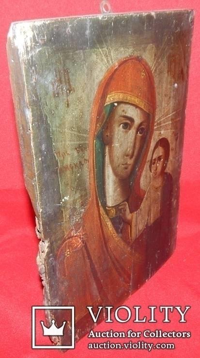 Икона Божьей Матери доска, фото №7