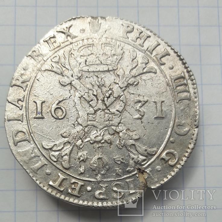 Талер Альбертусдальдер патагон іспанські Нідерланди 1631