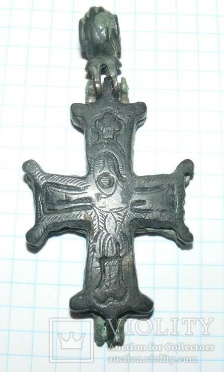 Енколпіон Розп'яття Христове-Чорновий хрест.