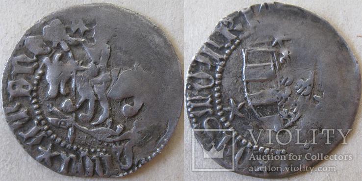 Подільський півгріш Костянтина Коріатовича, карбування  1380-1391рр