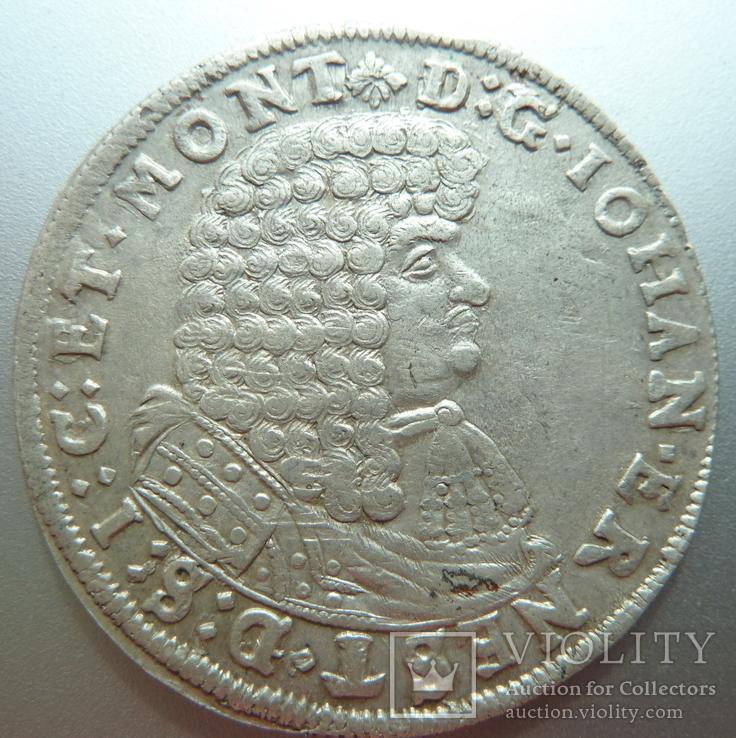 2/3 Талера Иоган Эрнест, 1677 г.