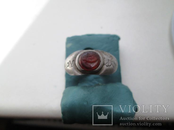 Перстень серебро Рим
