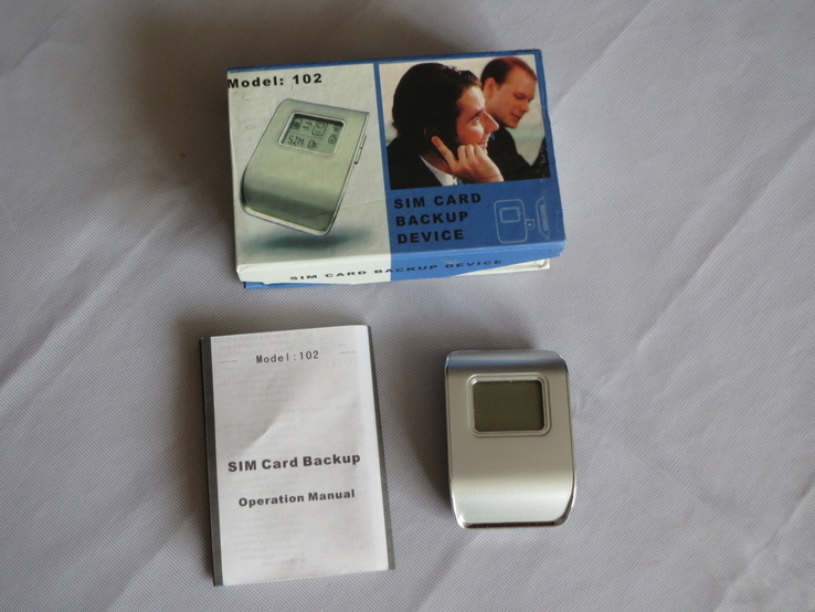 Устройство для резервного копирования и хранения  данных SIM карты