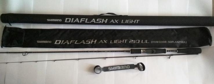 Спининг SHIMANO DIAFLASH AX SPINNING LIGHT 210 UL