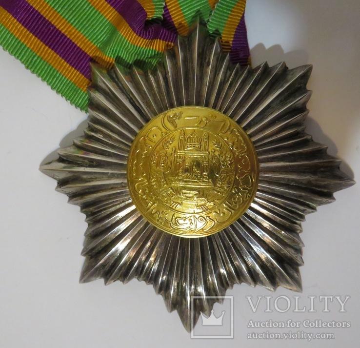 Афганский  королевский шейный орден '' Звезда,'' III класса,тип 1923 года.