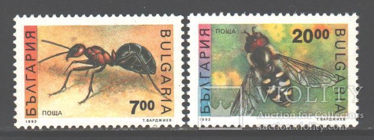 Болгария. 1992. Насекомые **.