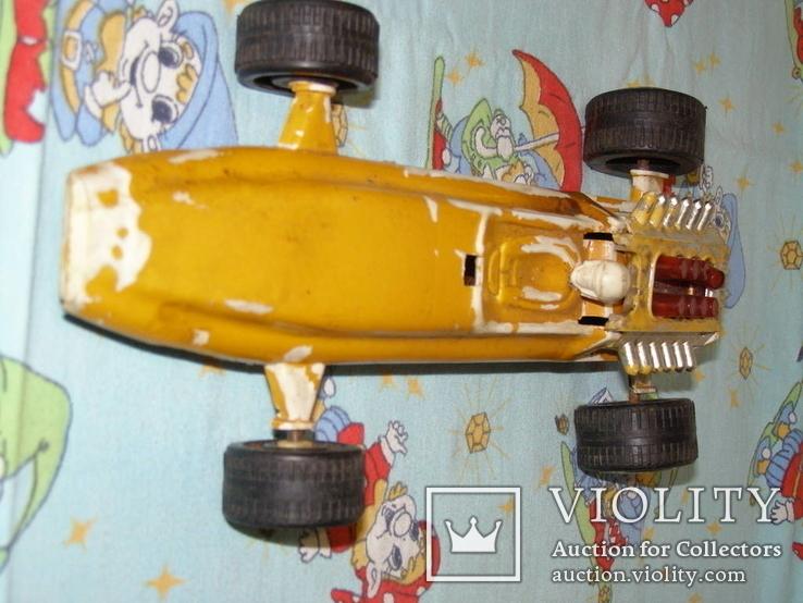 Гоночная машинка (СССР, 28 см), фото №6