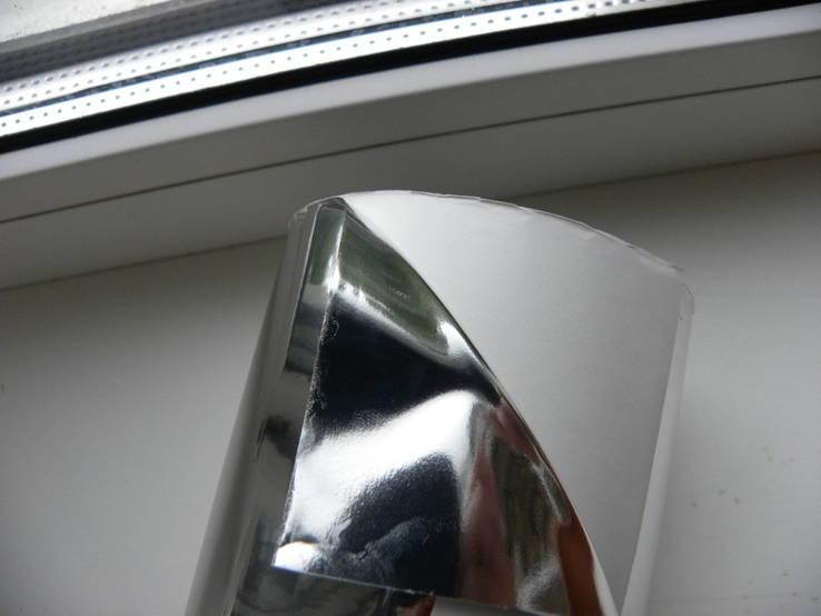 Пленка самоклеющаяся , цветопередача серебро 50 метров ширина 130 мм, фото №4
