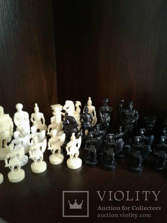 Шахматные фигуры без доски