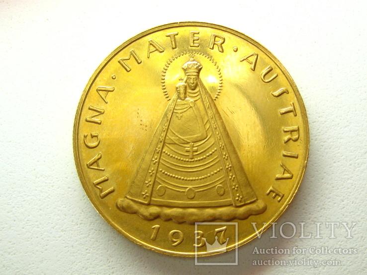 100 шиллингов 1937 г. Мадонна Маризел