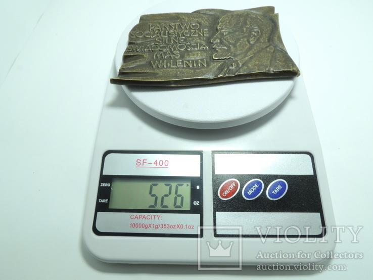 Польша. Ленин, барельеф 0,5 кг, фото №7