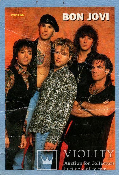 Bon Jovi (Открытка) 1993. Czech. Чехия.