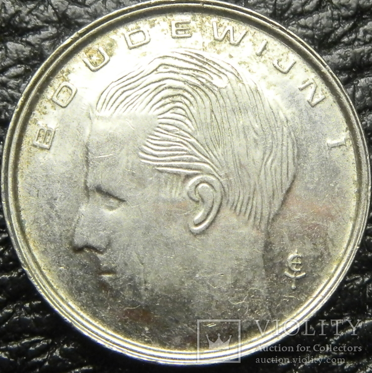 1 франк Бельгія 1990 Belgie, фото №3