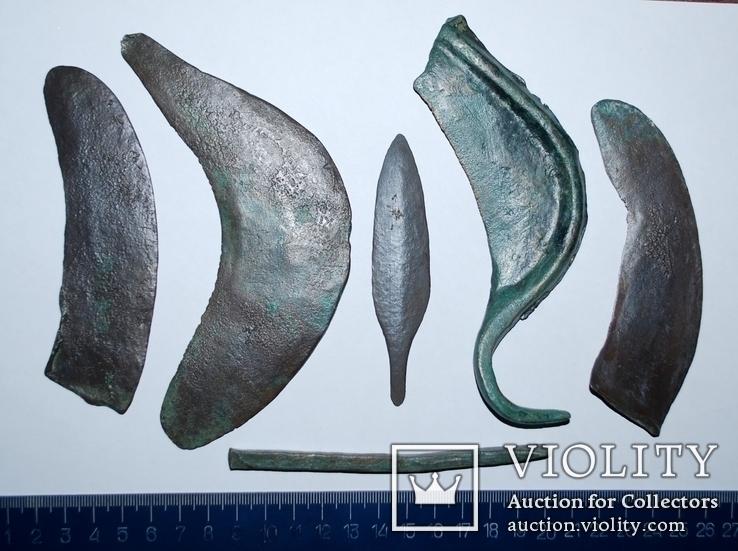 Предметы позднего периода бронзового века