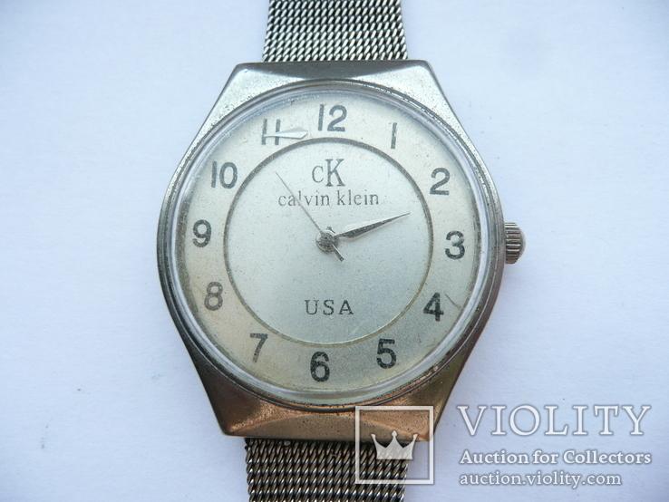 Часы-подделка Calvin Klein USA, фото №5