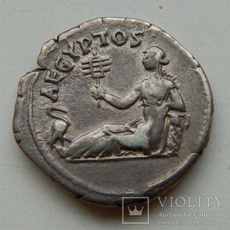 Aegyptos, денарий Адриана, 134-138 гг
