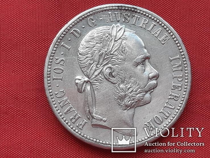 1 флорин 1878 г. Австрия.